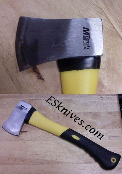 Crazy Joe Camping Axe | Extremely-Sharp | camping gear | great outdoors| No broken handles |