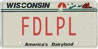 License plate generator
