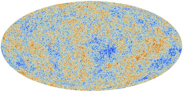 This image unveiled March 21, 2013, shows the cosmic microwave background (CMB) as observed by the European Space Agency's Planck space observatory. Among the discoveries: The universe is older than thought, 13.82 billion years old. The CMB is a snapshot of the oldest light in our Universe, imprinted on the sky when the Universe was just 380 000 years old. It shows tiny temperature fluctuations that correspond to regions of slightly different densities, representing the seeds of all future…