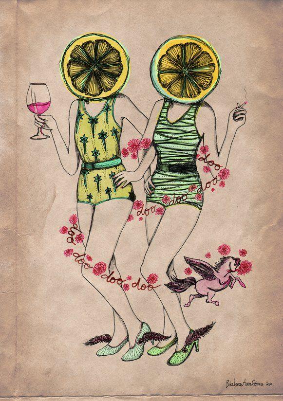 Bárbara Ana Gómez, ilustraciones inspiradas en canciones - Cultura Colectiva - Cultura Colectiva