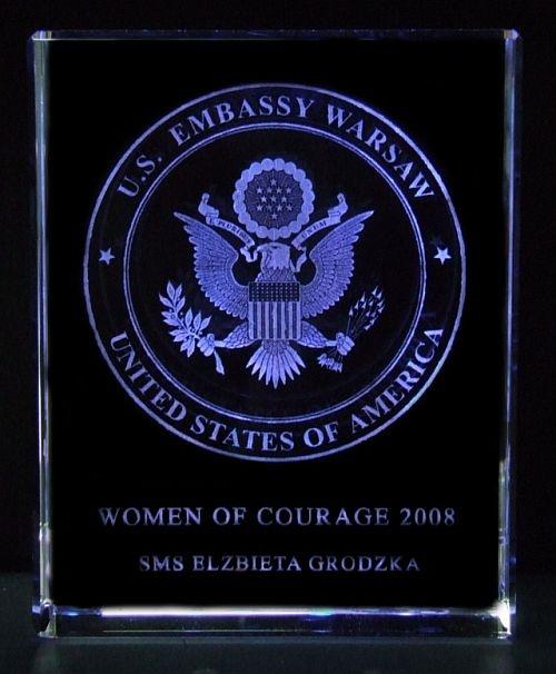 Women of Courage 2008 SMS Elżbieta Grodzka