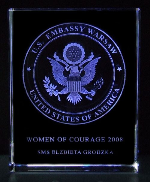 Women of Courage 2008 SMS Elżbieta Grodzka