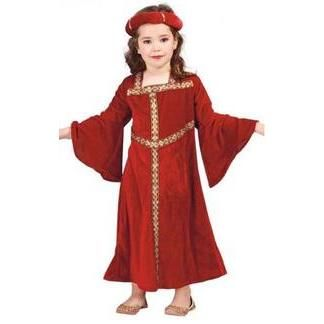 disfraz de dama medieval para nia