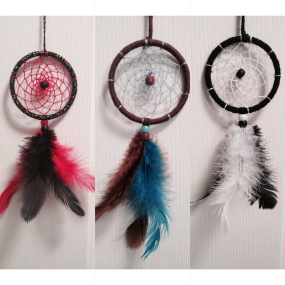 The Perfect Dreamcatcher for your Car Rear View Mirror on Etsy, $5.58