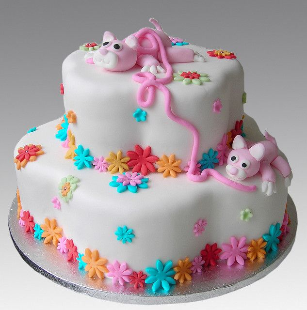 72 Best Cat Cakes Images On Pinterest Cat Cakes Birthdays And