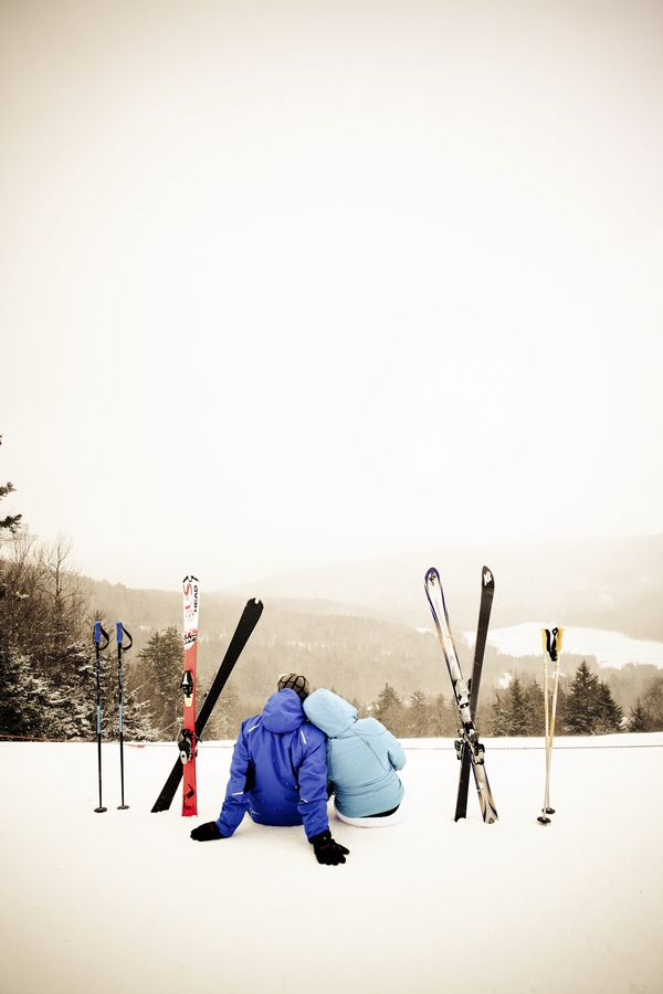 Couple in Snowshoe, West Virginia: