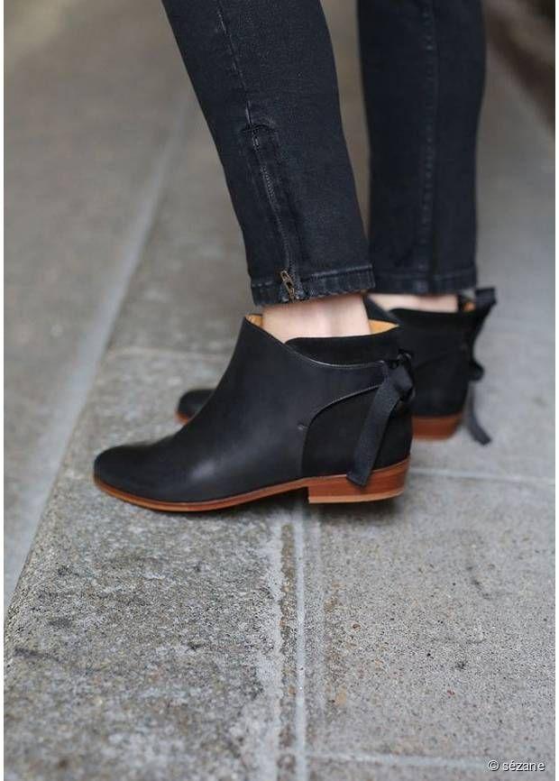 Sézane - Black Boots