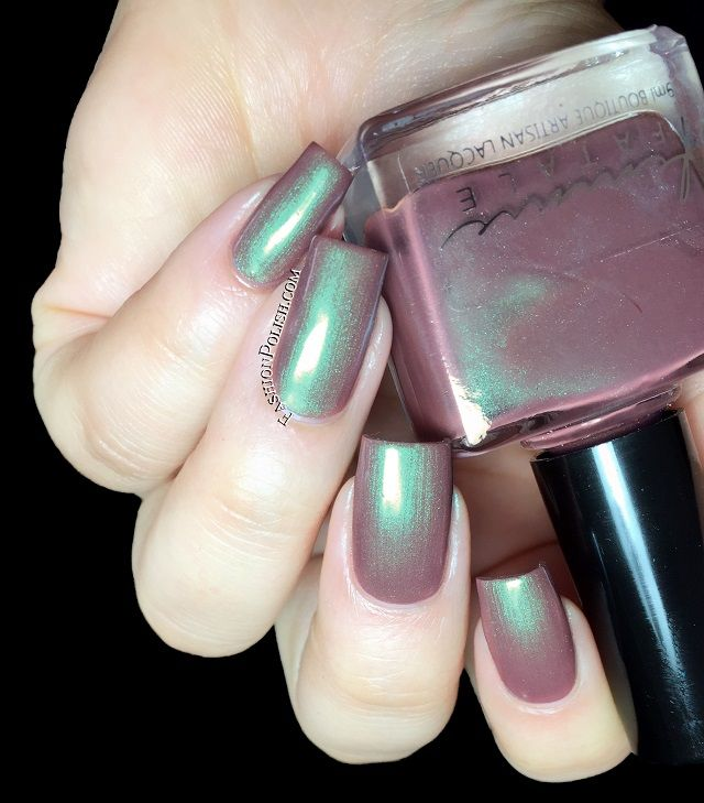 Fashion Polish: Femme Fatale Cosmetics The White Witch collection swatches and review
