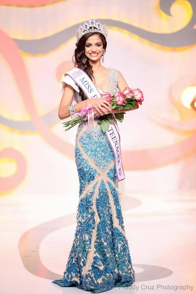 María Angélica Sanz - Miss Beauty Teenager RD 2015 / Miss Teen Universe Dominican Republic 2015