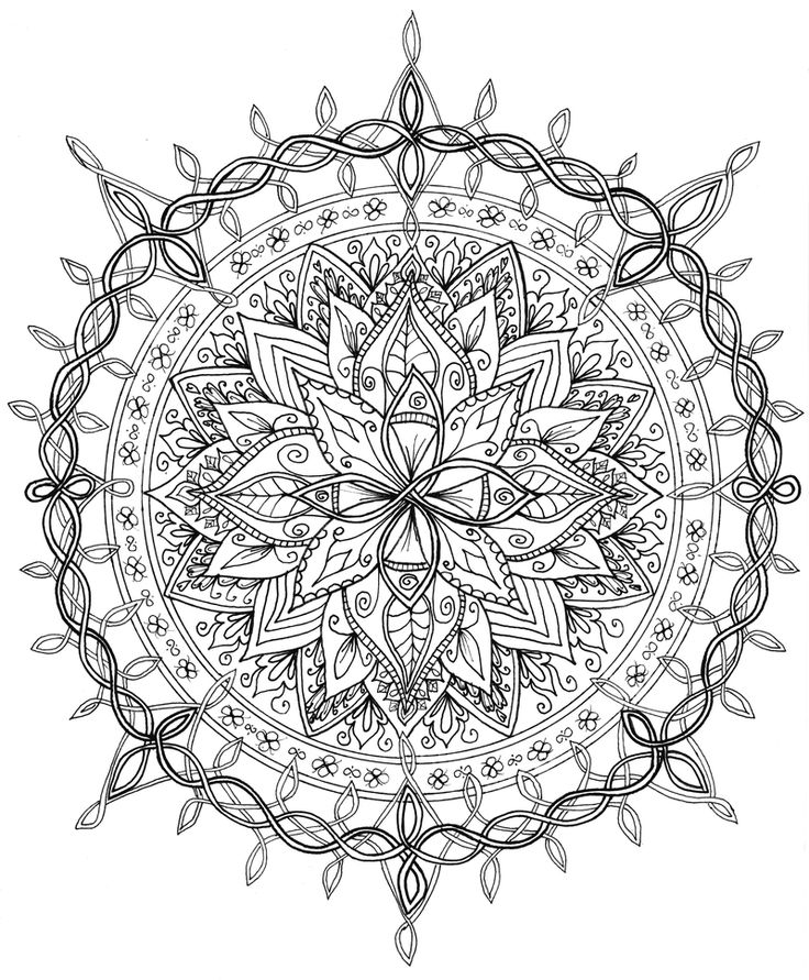 25 best ideas about Celtic mandala