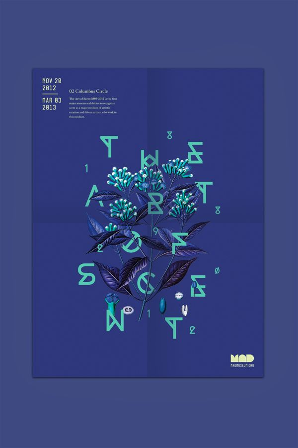 The Art of Scent on Behance - #inspiration #graphicdesign