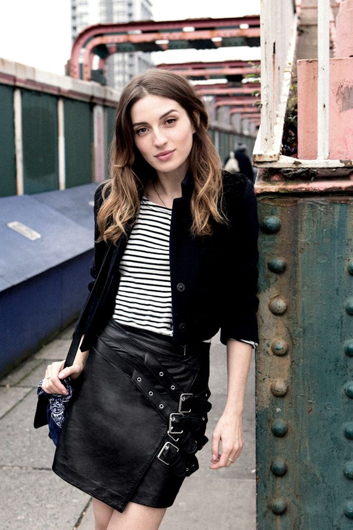 122 best leather skirt images on Pinterest