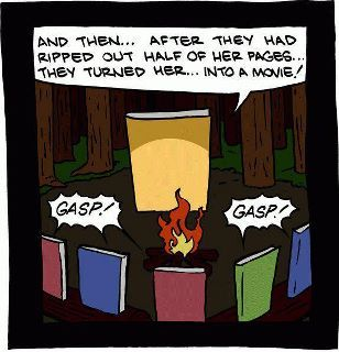 Scary stories books tell around the campfire.