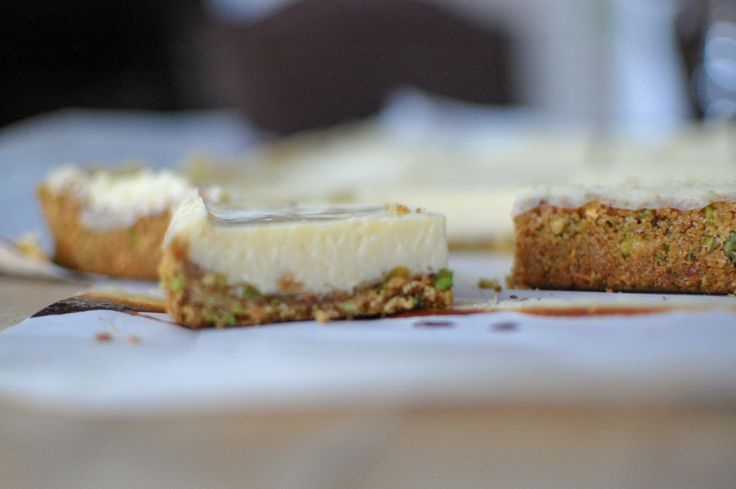 Lime Squares with Pistachio Graham-Cracker Crust | The Teacher Cooks