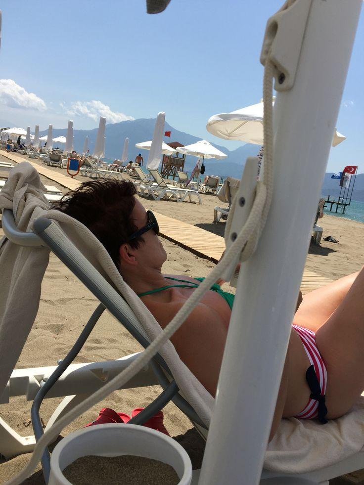Beach life. Sensatori Fethiye.