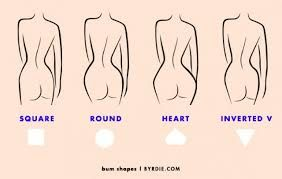 What kind of butt do you want?  There are four basic types of female butts. But you can change your shape. The Brazilian Butt Lift is a procedure where fat is transferred from the waist to the buttocks. It is a win win because you lose fat from where you want and gain where you need it . It has a 93 % worth it a rating.