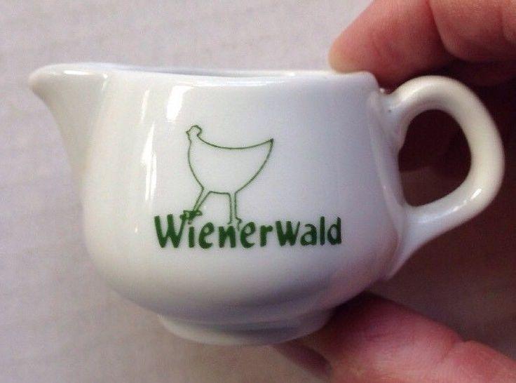 1990s 2000s WIENERWALD RESTAURANT WARE INDIVIDUAL CREAMER, ROSENTHAL, GERMANY #Rosenthal