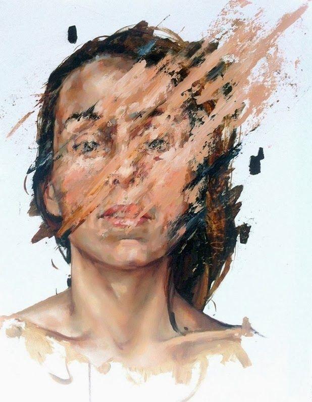 Juxtapoz Magazine - The Paintings of Cesar Biojo