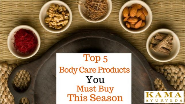 Top 5 Body Care Products You Must Buy This Season
