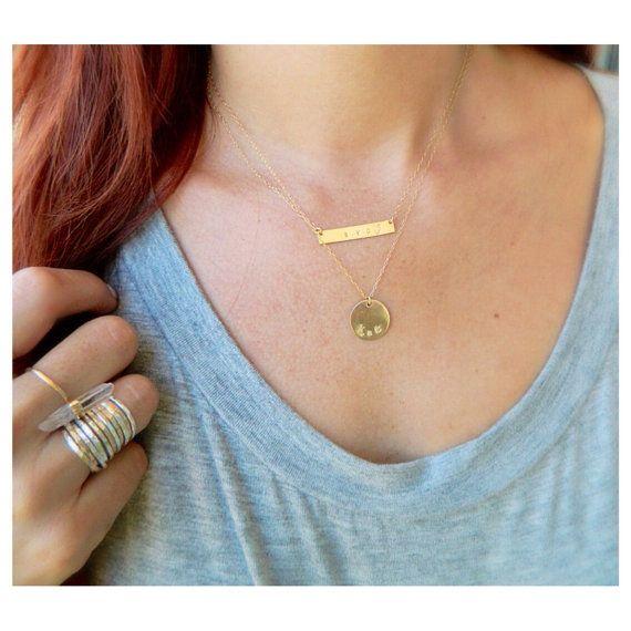 Gold Nameplate Necklace, Name Necklace, Personalized #jewelry #necklace @EtsyMktgTool http://etsy.me/2fZcGZJ #personalizedjewelry