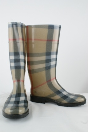 Burberry Rain boots. The only rain boots I'd wear :)