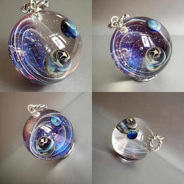 WEBSTA @ rubino_oro - 😊#космос #lampwork #glass #Лемпворк #кабошон #кулон  #ручная_работа #рубинооро #стекло #авторскаяработа #авторские #украшения #handmade #glass #ocean #pendant #ring #flower #fantasy #pendant #глаз #eye #eyes #галактика #space #galaxy #glass_for_sale #universe #jellyfish #медуза #кольцо #ring