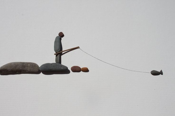 Pebble Art from Nova Scotia By Sharon Nowlan