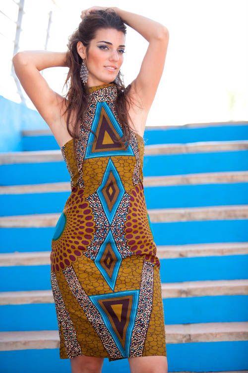 Vestidos de capulana african traditional african fashion ankara