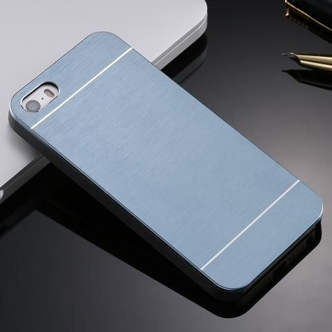 Luxury Aluminium Brush Metal Case for iPhone 4 4s