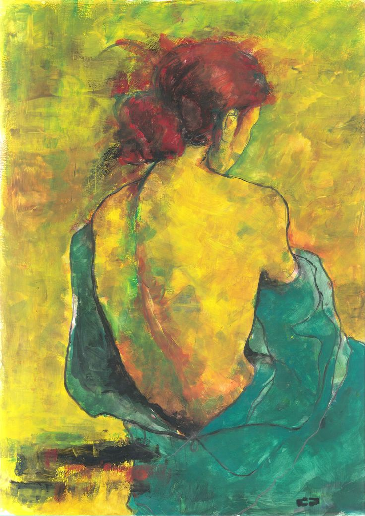 yellow #29 (42 x 30, tempera on paper)