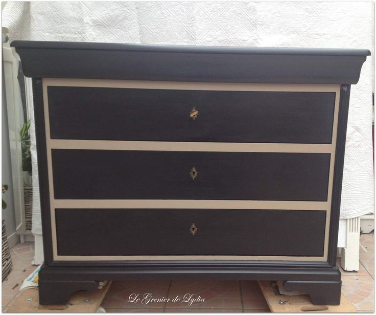 transformation d 39 une classique commode louis philippe en. Black Bedroom Furniture Sets. Home Design Ideas