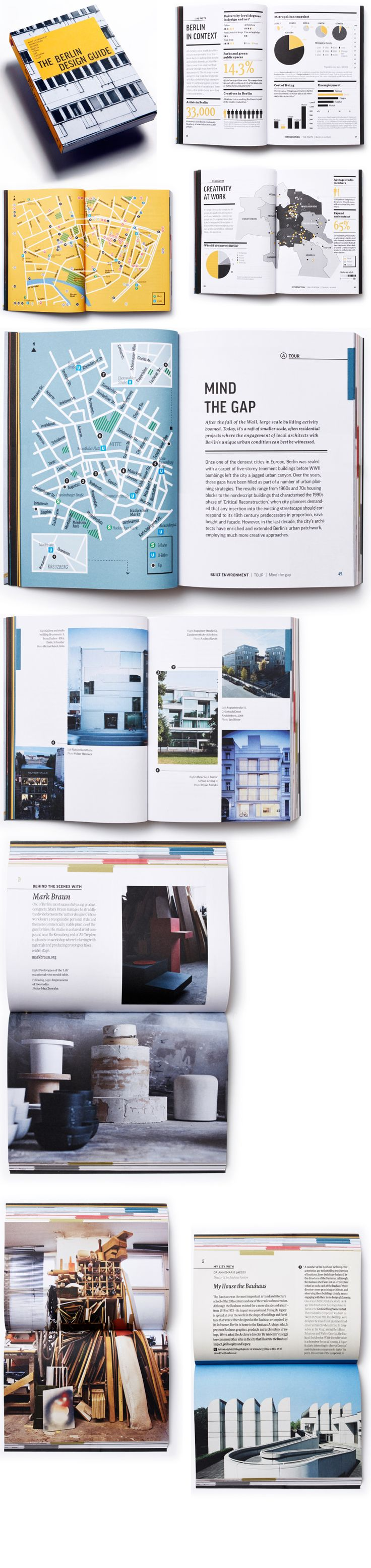 The Berlin Design Guide.   Nice use of both portrait and landscape pages - JB