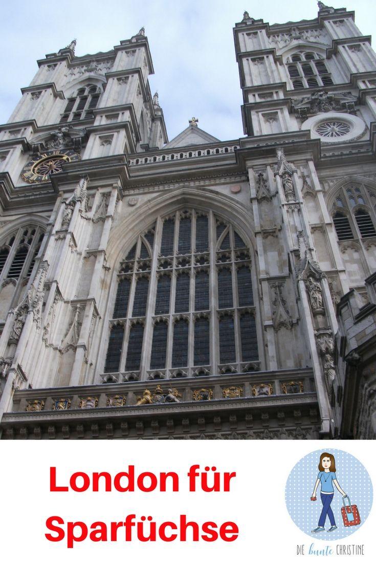 London für Sparfüchse: So sparst du in London bares Geld (London low budget)