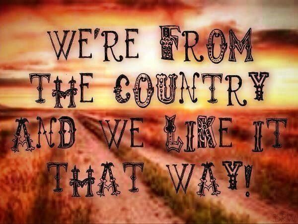 We like it that way....Southern Country