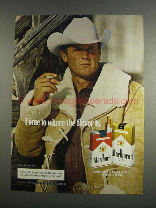 2126928b4cd54 1984 Marlboro Cigarettes Ad - Marlboro Man