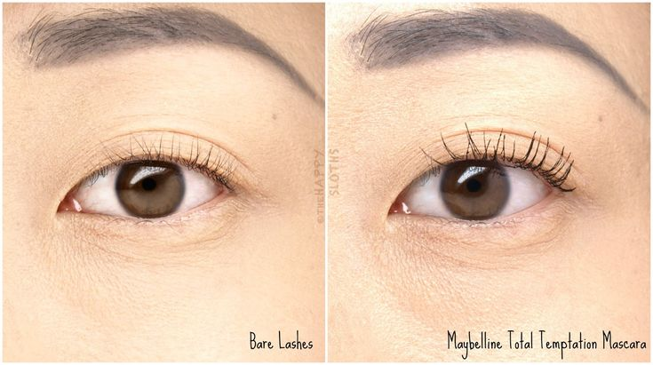Maybelline Total Temptation Mascara: Review and Swatches