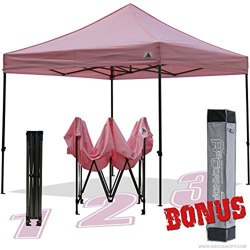 Abccanopy Kingkong-series 10 X 10-feet Commercial Instant Canopy Kit Ez Pop up Canopy Bonus Carrying BagPink http://homepatiogarden.net/abccanopy-kingkong-series-10-x-10-feet-commercial-instant-canopy-kit-ez-pop-up-canopy-bonus-carrying-bag%ef%bc%8cpink/