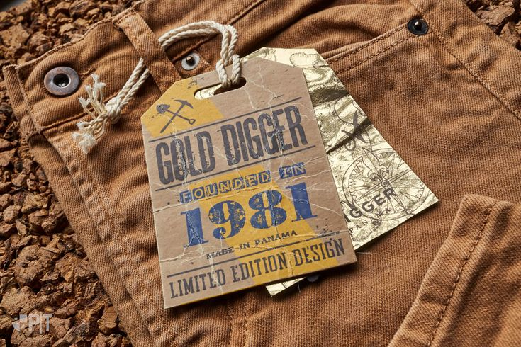 Hang tag made in Italy by Panama Trimmings #denim #details… #vintage #labeling