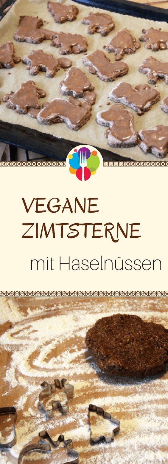 Vegane Zimtsterne I Vegane Kekse I Vegan backen I Entdeckt von Vegalife Rocks: www.vegaliferocks.de ✨ I Fleischlos glücklich, fit & Gesund✨ I Follow me for more vegan inspiration @vegaliferocks