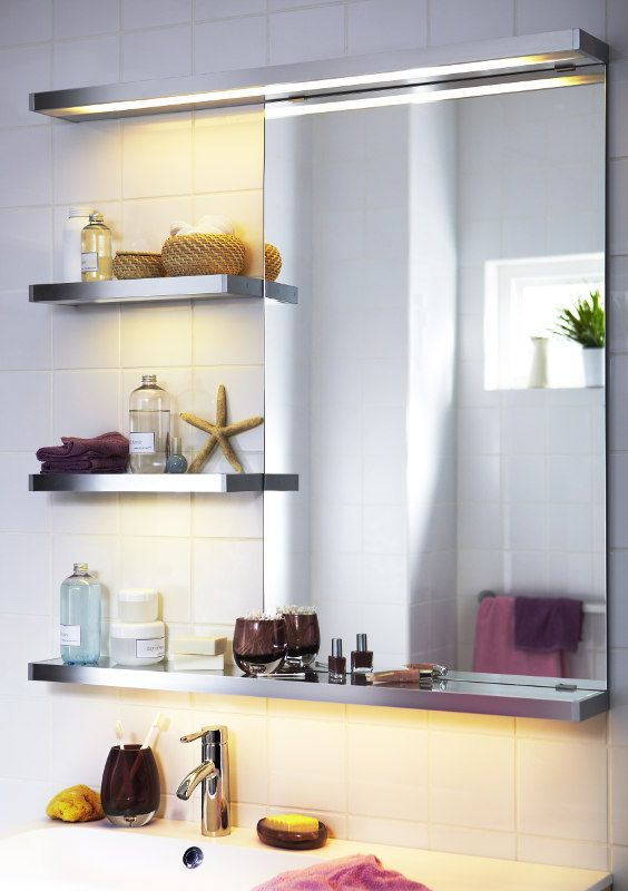 27 best Beleuchtung im Bad images on Pinterest Lighting - badezimmerspiegel mit ablage