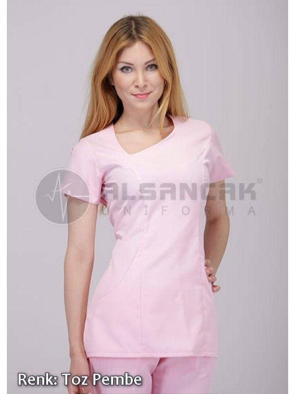 Doktor Forması - Toz Pembe Damla Yaka Ürünümüz tükenmiştr.   Alpaka Hemşire ve Doktor Forması  #doktor #hemşire #doktorönlüğü #alsancaküniforma #izmir #moda #laborant #üniforma #uniforma #medikal #medical #scrubs #forma #doktor forması #hemşire forması #yarasakol #önlük #hakimyaka #sporyaka #hamileforması #hamile #başhemşire #hastane #tıbbi #tekstil