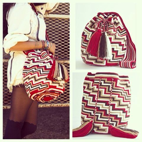 Handmade Wayuu Tribe Bags From Colombia – MOCHILA WAYUU BAGS   Handmade by the Wayuu People