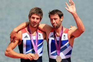 Names: Zac Purchase and Mark Hunter Sport: Rowing Position: Silver Purchase and Hunter won a silver for Team GB in the men's lightweight rowing sculls.