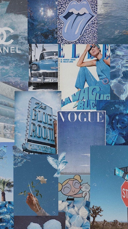 blue aesthetic wallpaper in 2020 blue aesthetic