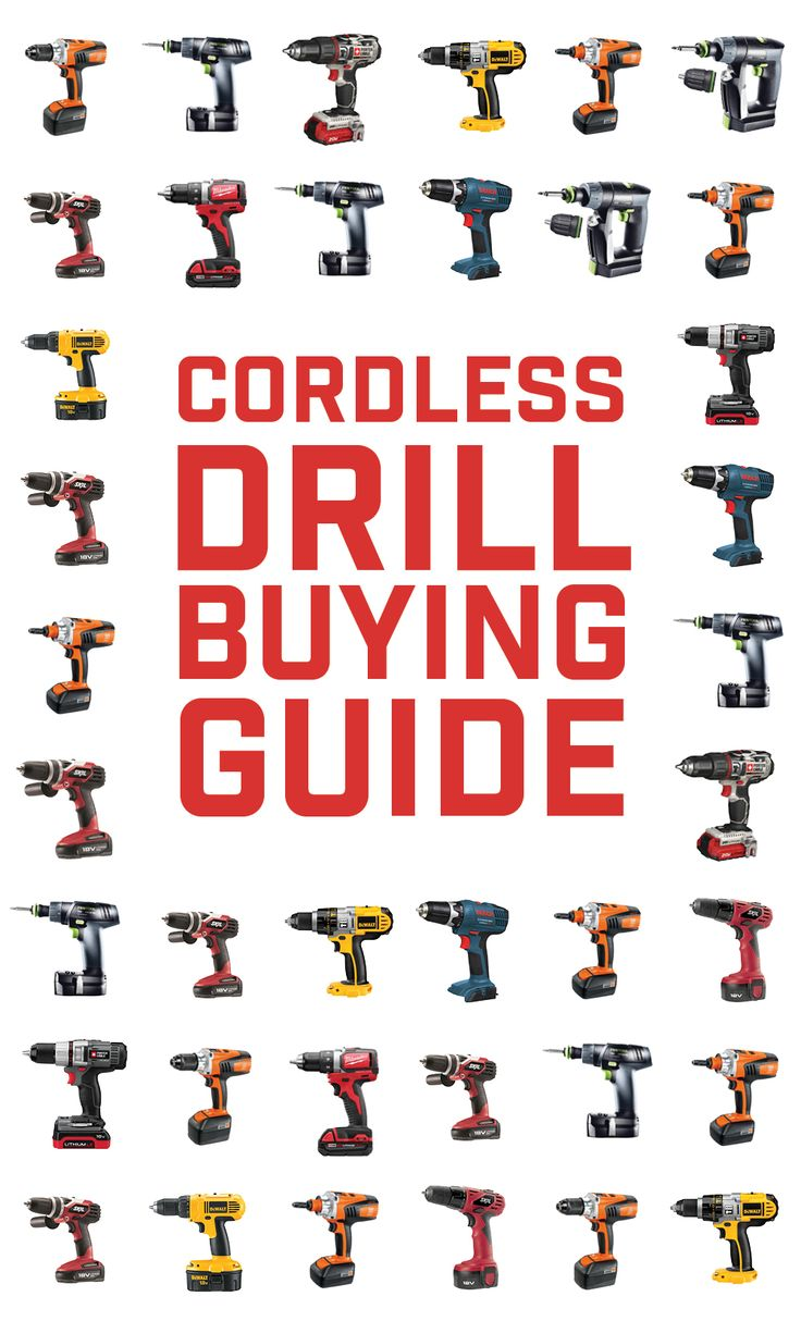 From heavy duty construction to fine woodworking, choose the best cordless drill for the job.