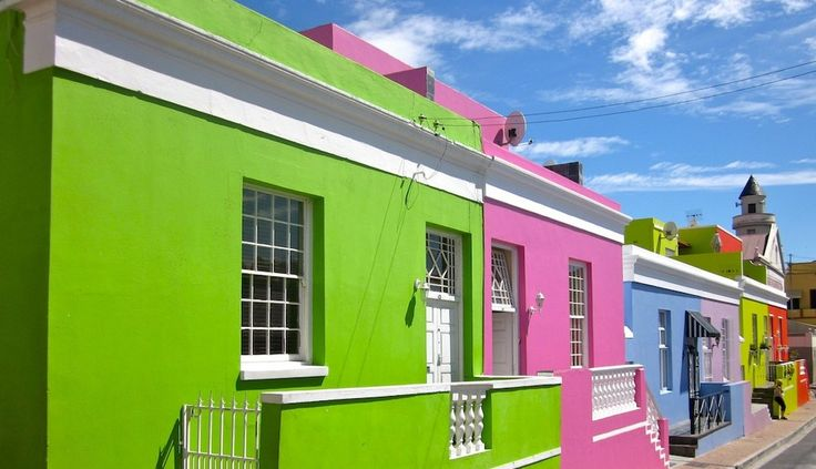 Bo Kaap, a district rich in colors, Cape Town