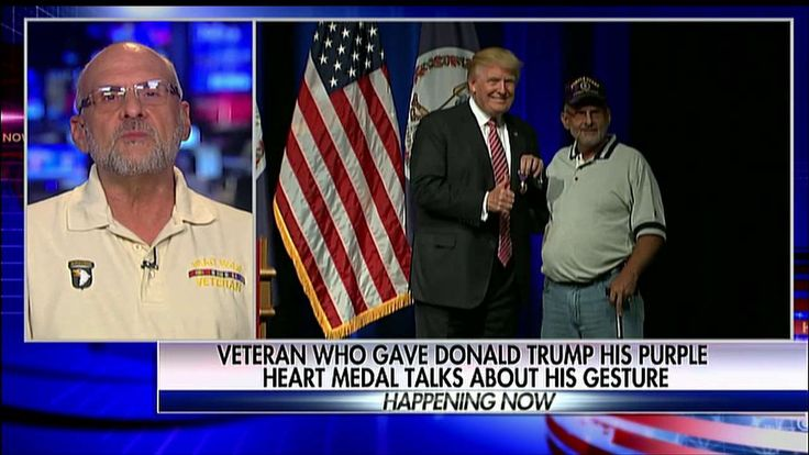 Vet Who Gave Trump His Purple Heart Medal Speaks Out