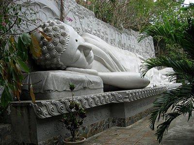 Reclining Buddha, Mui Ne, Vietnam.  I was here!