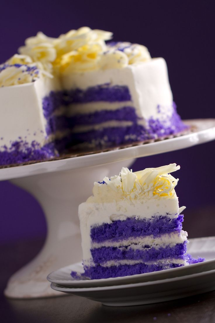 Purple Velvet ™ Torte from Frederick's Pastries in Massachusetts