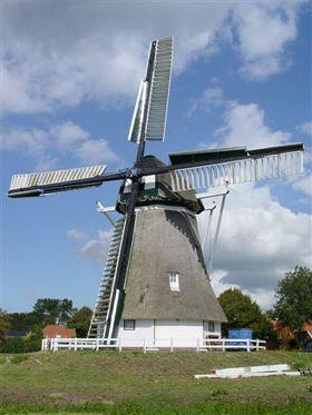 Flour mill De Hoop, Kropswolde, the Netherlands